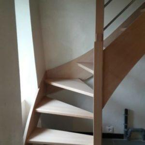 Escalier Avant-après